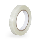Professional manufacture acrylic adhesive mono directional fiber glass filament tape for seal
