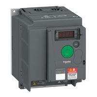 Schneider Electric Electric Motor Inverter 3 Phase Altivar Easy Variable Speed Drive Supply Voltage - ATV310HU22N4E