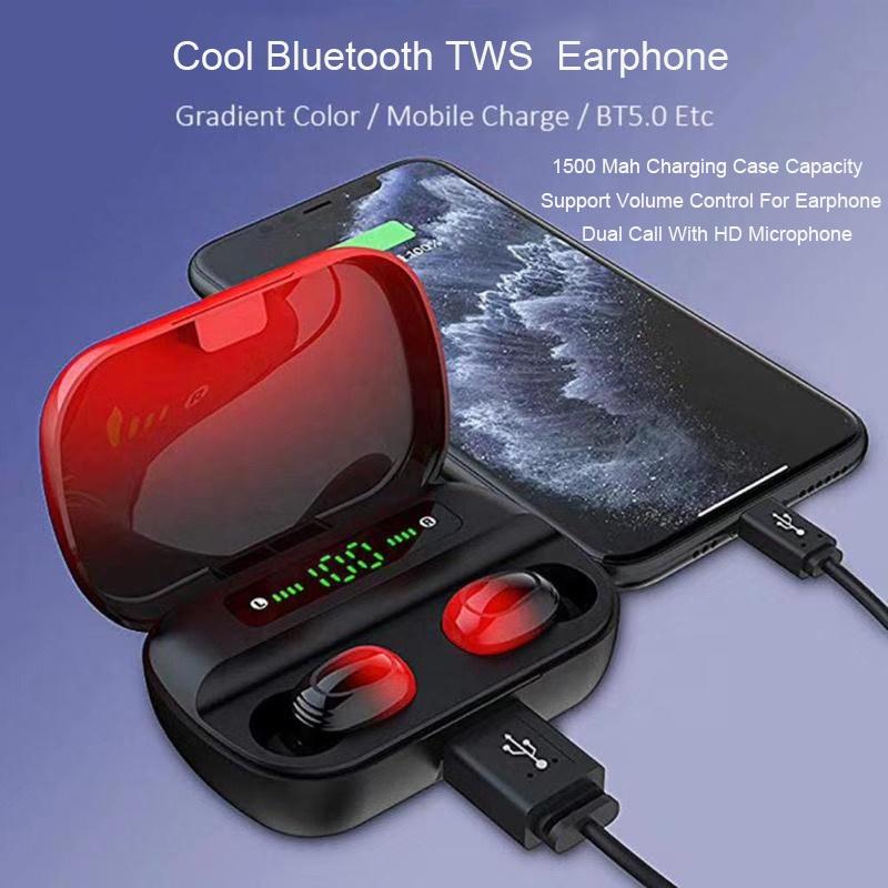 TWS Super Smart Earbuds Auto Pair TWS Earphone Wireless Deep Bass Sound Music Wireless Headphone TWS Earbud Earphone