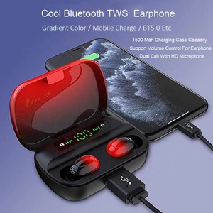 TWS Super Smart Earbuds Auto Pair TWS Earphone Wireless Deep Bass Sound Music Wireless Headphone TWS Earbud Earphone