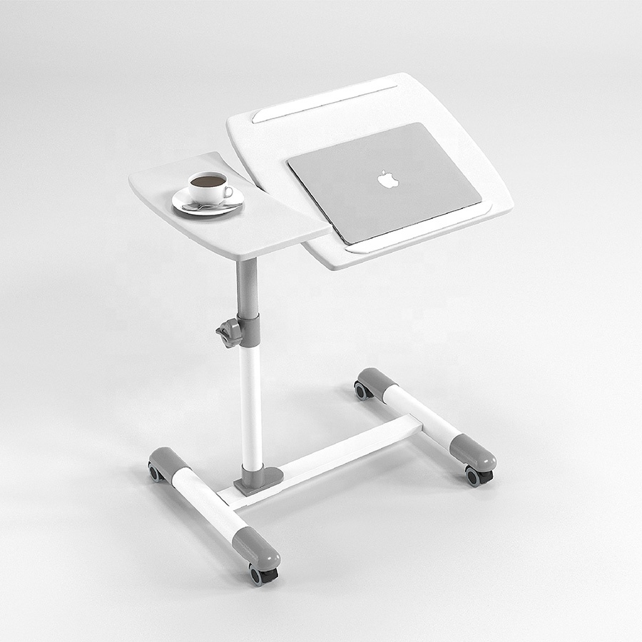 Movable hospital overbed nurse side dining <strong>tables</strong>