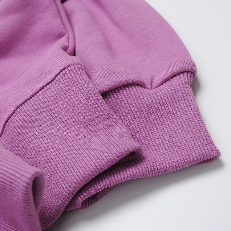 Fashion High Quality Hoodies Men Custom Sweatshirts Without Hood