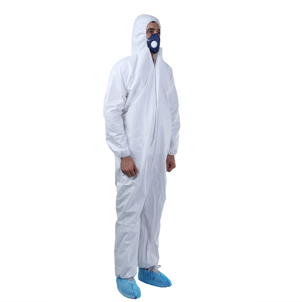 Painting Safety Hooded PPE Disposable Chemical Protective Suit - KingCare | KingCare.net