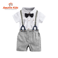 Summer Children Child 2020 Clothes Baby Shorts Kid Boy Clothing Set