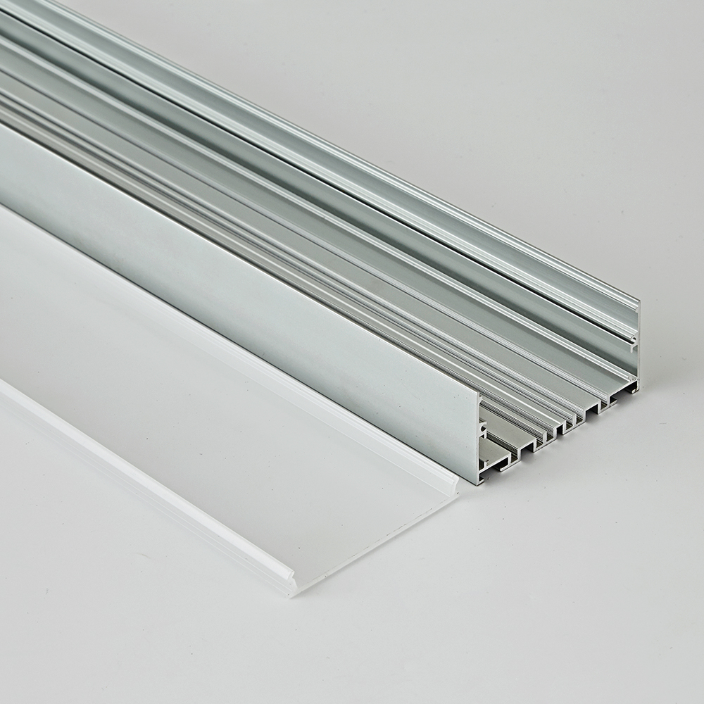75x35B new design heat radiation aluminum extrusion channel for led office hoisting light