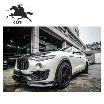 Wholesale Covers Carbon Fiber Hood Car Parts MS Style Body Kit Suitable For Maserati Levante