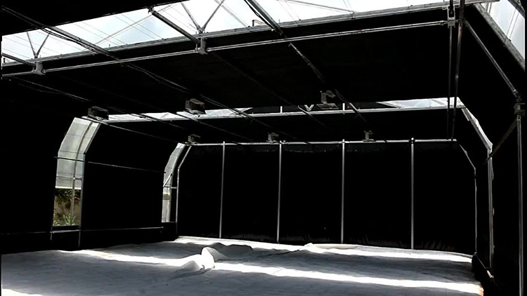 Skyplant commercial black out greenhouse single span medical planting