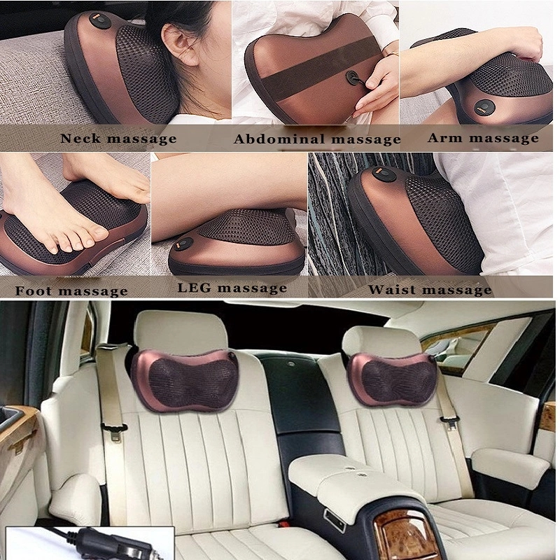 Health care butterfly type Car mounted design head massager pillow