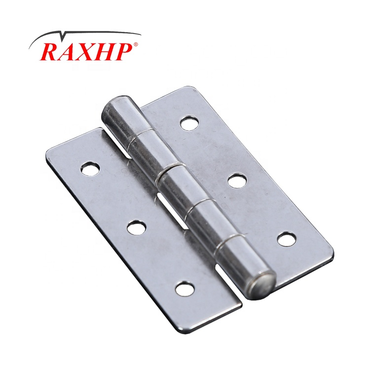 """1"""" 270 degree China sus304 stainless steel Self-Closing Spring Loaded Hinge Plain End Butt Hinge Brush Nickle for Box"""