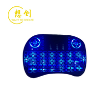 Mini <span class=keywords><strong>teclado</strong></span> inalámbrico i8 para Gaming con retroiluminación y ratón Air remoto para Smart TV