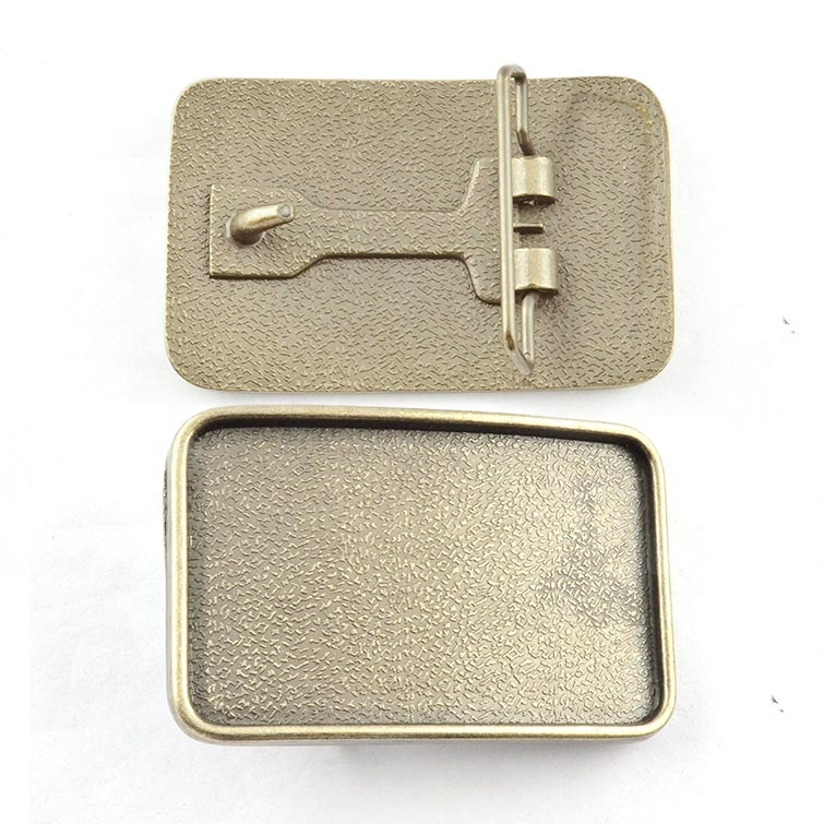 China factory new fashion custom metal clip scout belt clamp woman belt buckle