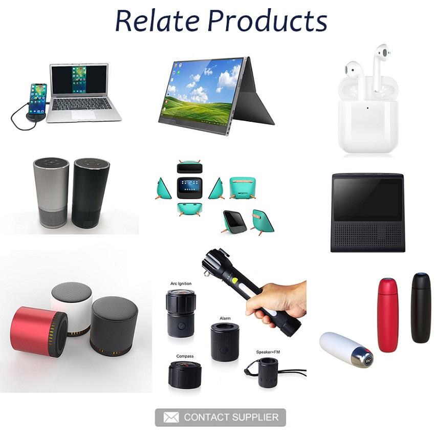 APEC AI Baru Desain Smart Layar Layar Sentuh Speaker dengan Alexa Voice Diaktifkan Ai Smart Speaker APM-A25