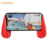 Cell Phone Cooler Radiator Game Controller with Dual Cooling Fans Wireless Chargeing Power Bank Function Gamepad for Smartphone
