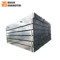 Hot dipped galvanized / pre galvanized square and rectangular hollow section steel pipe and tube