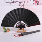 Folding Fans New Design Men Bamboo Folding Hand Fans Custom Gift Craft Fans 33cm 27cm 24cm
