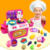 2020 New Product Custom DIY Free Combination Role Play Children Mini Play House Toy Girls Small Appliances Plastic Kitchen Toys