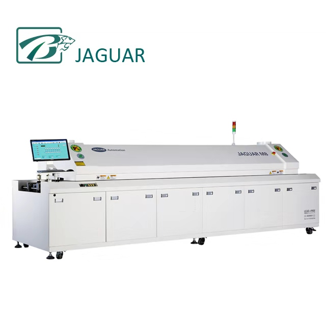 SMT Automatic Lead Free Solder Reflow Oven for LED light production line