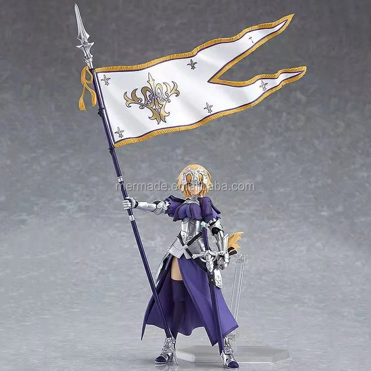 Japanese Anime Fate Grand Order Joan of Arc Ruler Movable PVC Action Figure Figma Hand Model Toys