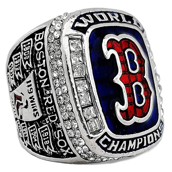 Red Sox 2019 Replica 3d picturecustom championship rings
