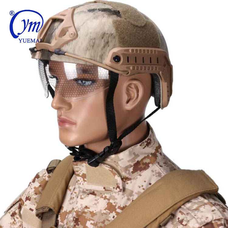 Tactical Security Helmet  Outdoor Fast PJ protective Helmet Military Army Safety helmet
