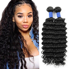ALL COLORS Indian Hair Deep Wave Virgin Cuticle Aligned Hot Sale 100% Indian Human Virgin Cuticle Aligned Hair Deep Wave Bundles Extension