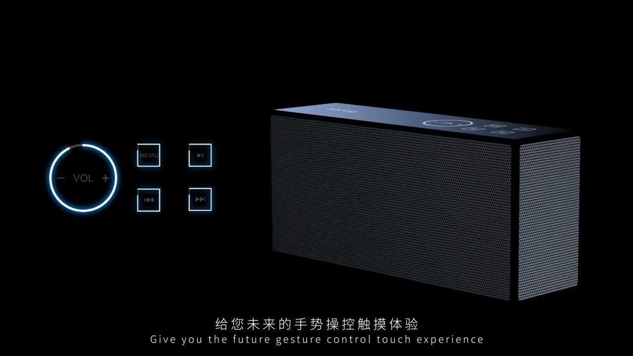 Intelligent New Product Design Portable Wireless USB Bluetooth Speaker