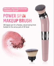 Blush make up pinsel set elektronische dreh make-up pinsel