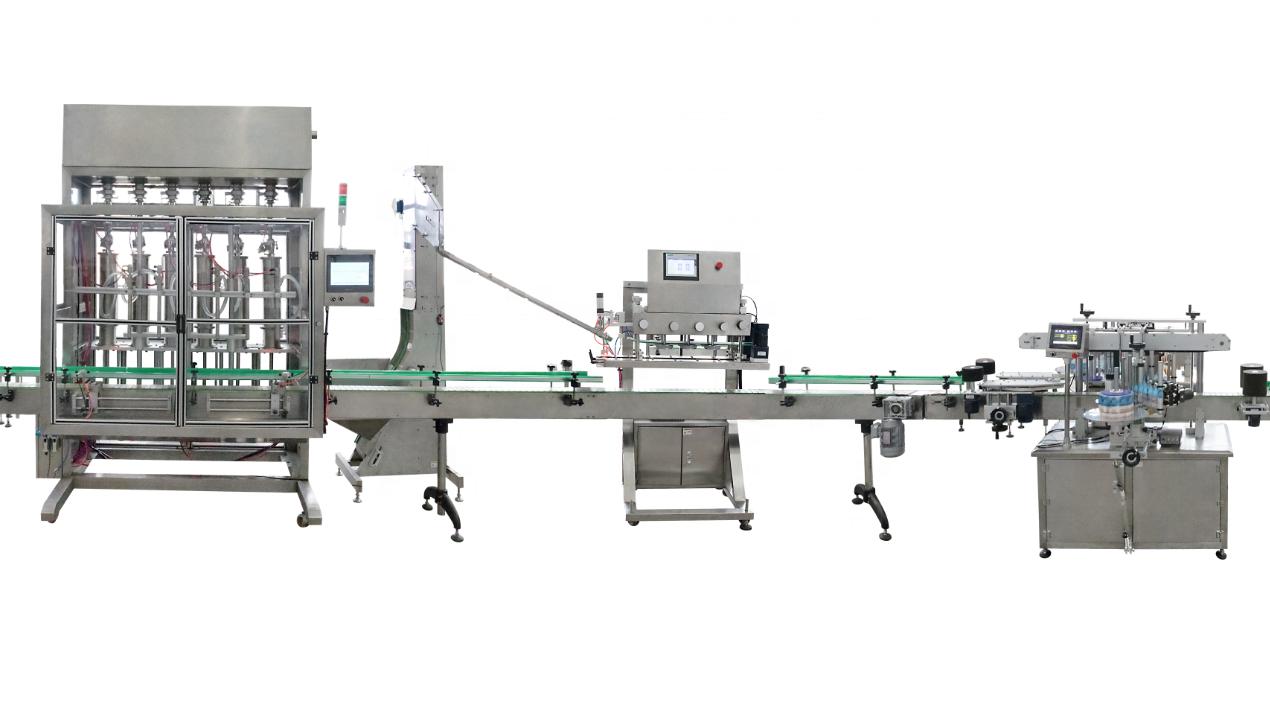 Cina Produttore automatico bottiglia di liquido macchina di rifornimento