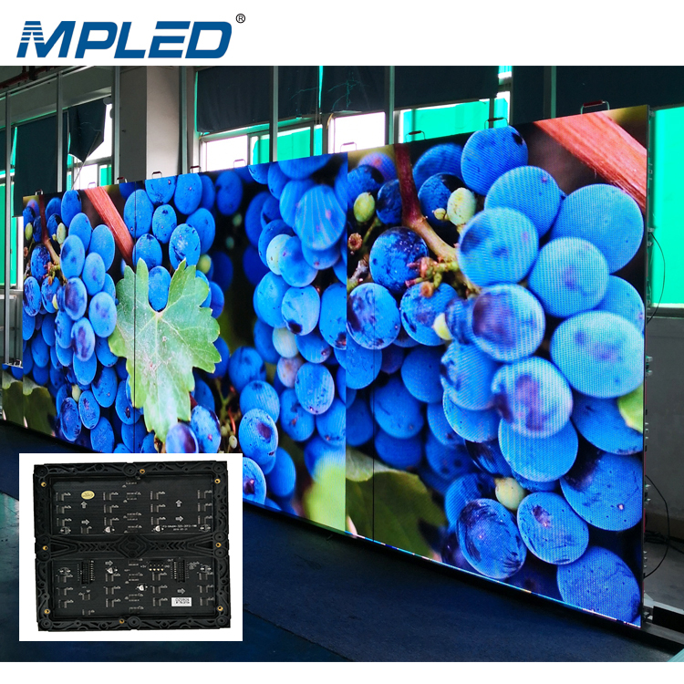 MPLED China Fabrik Direkt verkauf P2.5 P3 P4 P5 P6 Flexible Indoor-Led-Display