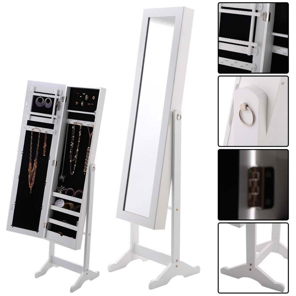 Mercado DOS EUA atacado jóias armário espelhado armário de MDF para mobília do quarto