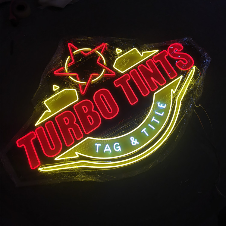 Custom Outdoor Store Acrylic Neon Light Sign Pizza Neon Sign Letters Led Letras Enseigne Neon Manufacturer