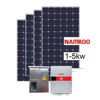 Complete Solar System 3kw On Grid Solar Panel Kit New Product Solar Energy Powered