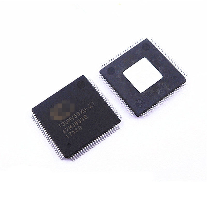 (New&Original)TSUMV59XU-Z1 TSUMV59XE-Z1 QFP128 integrated circuit LCD Driver On Stock
