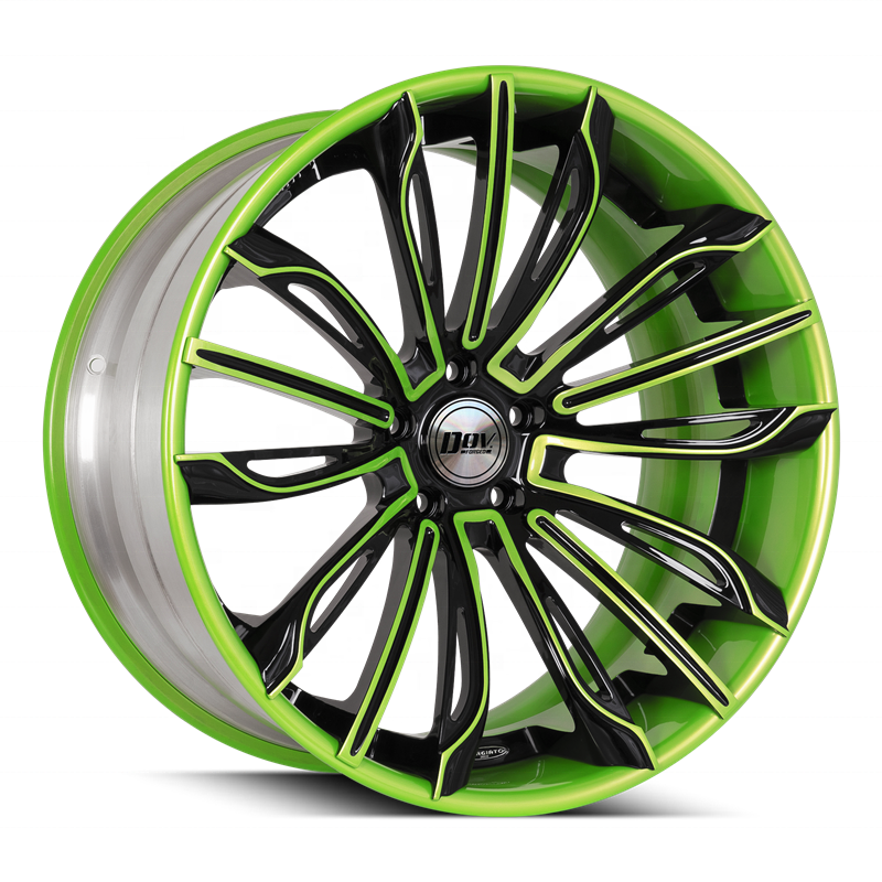 High quality chinese factory made R15 - 24 inch staggered car rims alloy wheel