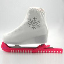 Новая обувь для фигурного катания на льду Patins с алмазным покрытием, защита для роликовых коньков, эластичная байковая обувь для детей, девоч...(Китай)