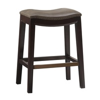 Zhihua High Quality Comfortable Modern Style Mushroom Leather Bar Stools/Chairs