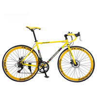 high performance 21 speed 700C racing road aluminum alloy frame bicycle