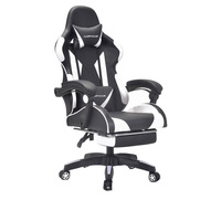 Modern simplicity office computer gamer recliner racing gaming chair with footrest factory cheap home chair