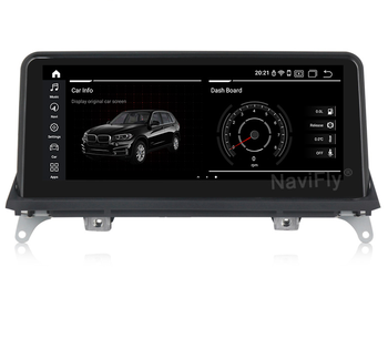 NaviFly MSM8953 8core 4+64G 10.25inch Android 9.0 car dvd player for BMW X5 E70 X6 E71 I-drive Button 4G LTE GPS WIFI Radio