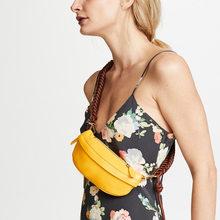 Дизайнерская кожаная сумка женская нагрудная сумка поясная сумка для женщин поясная сумка тканая сумка через плечо сумочка сумка на пояс(Китай)