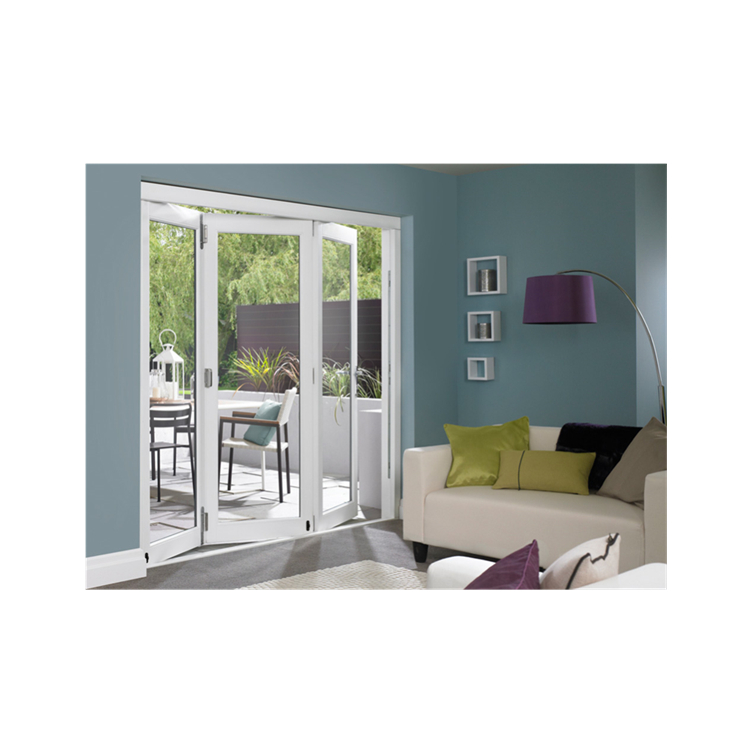 Nice price Grey factory price AS2047 AS1288 AS2088 Certificate  Aluminum Frame Bi-fold door