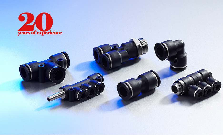 Plastic/ metal pneumatic connectors fittings