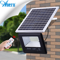 Anern high bright outdoor wall mounted solar light 100w