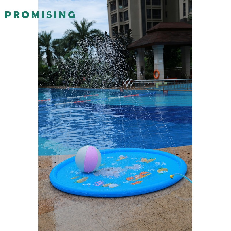 Inflatable water sprinkler for kids Outside fun for wholesale