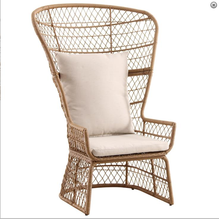 Wholesale furniture rope chair recliner fashion outdoor rope woven lounge chairs