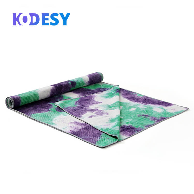 High Quality Hot Sale Exercising Cotton Bamboo Yoga Towel