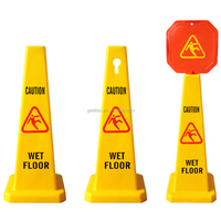 plastic wet floor caution sign plastic warning sign board No Parking