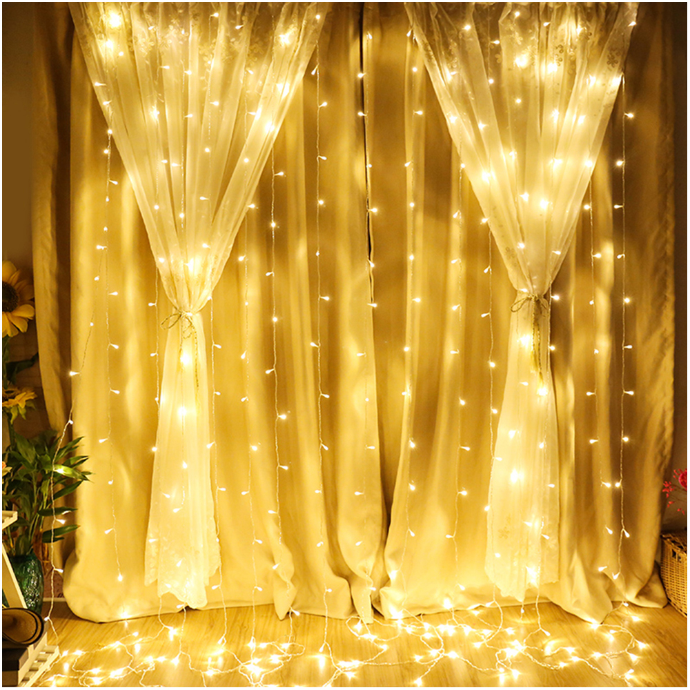 2M 20 LEDS christmas decoration Copper Wire LED mason jar fairy lights Solar Lantern Lights for Patio Garden Yard and Lawn