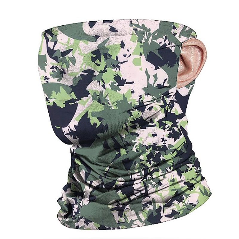 Fourniture directe d'usine cool chaud foulard couverture visage cou soleil protection coupe-vent résistant à la poussière extérieur