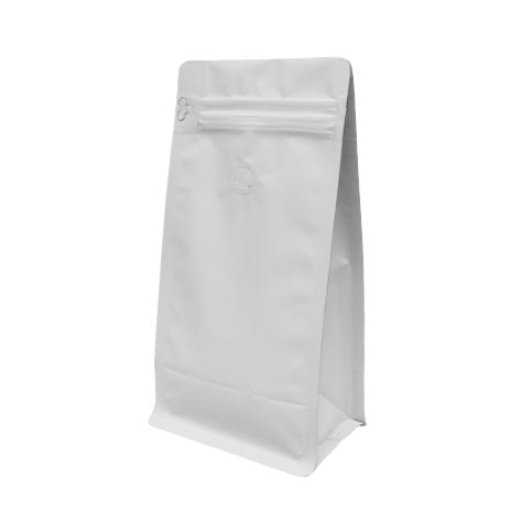 PLA  Plastic Kraft Bags with Window Biodegradable Pla Food Tea Plastic Bag Coffee Beans/Beef Jerky/Snack